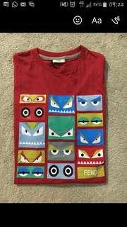 Authentic Fendi Eyes T-shirt
