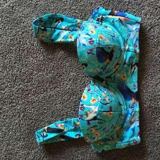 Bikini top (lace up)