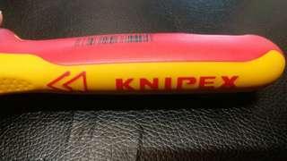 KNIPEX 1000V 絕緣開線刀 德國製