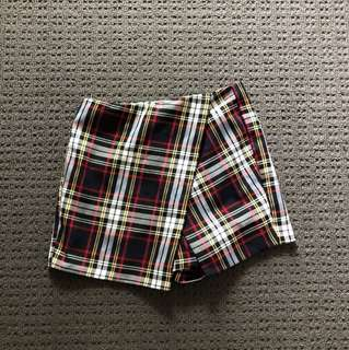 Topshop Asymmetrical skort - never worn w/ tags