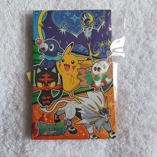 5pcs - Pokemon Pikachu Sun & Moon Cute Cartoon Character Red Packet Angbao for Chinese New Year CNY [Made In Japan]