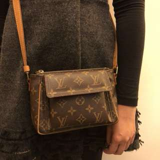 LV 細size袋 classic leather bag