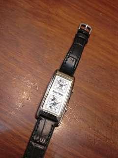 米奇老鼠雙地計時電子手錶