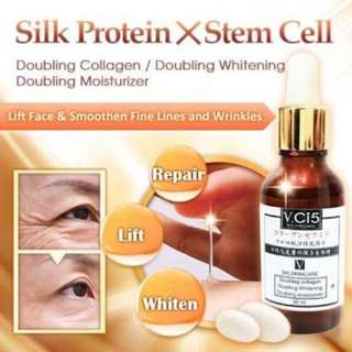Anti-aging serum with stem cell technology
