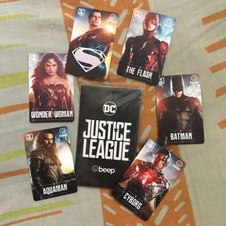 Justice League Beep Card Collector's Edition