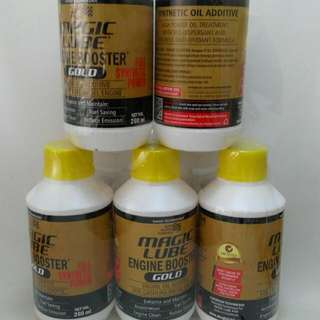 Magic Lube Engine Booster Gold Mobil Diesel