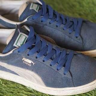 Puma Suede Blue sz 7
