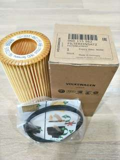 VW Audi engine oil filter