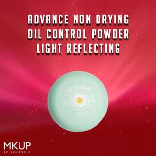 MKUP® Advance Non Drying Oil Control Powder 02 Light Reflecting