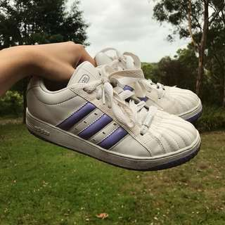 Adidas All Stars Great Vintage Condition Size UK 8, US 9.5