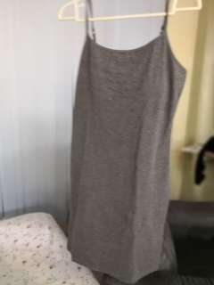 Mango Basics - Gray Dress