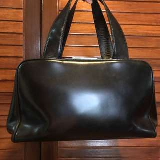 Vintage genuine prada shoulder bad