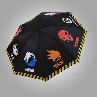 Overwatch Folding Retractable Umbrella Merchandise