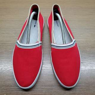 Lacoste 2017 Aimard 4 AP Mens's Red Slip-ons
