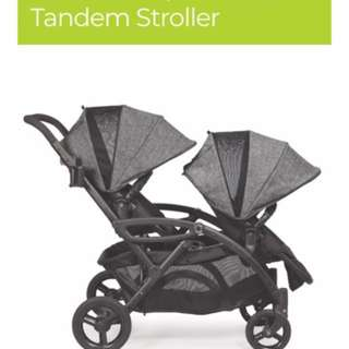 tandem or double stroller