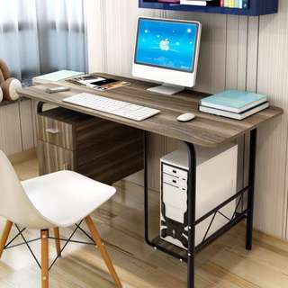 Desktop Desk with Cabinet