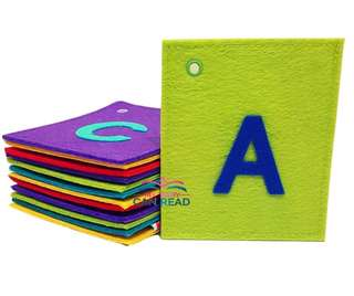 Flash Felt/ Flash Card (Alphabets- Upper Case)