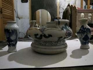 1 Set Keramik Impor.. Very Classic...