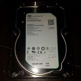 4TB Seagate Hard Disk