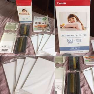 Canon Selphy CP Photo Sheets