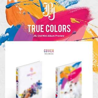 [PREORDER] JBJ TRUE COLOURS