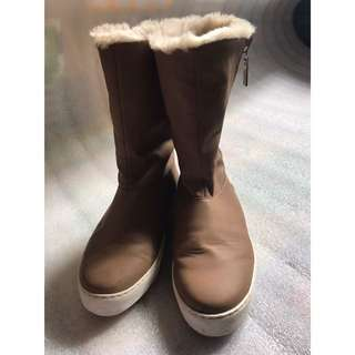 Charles and Keith brown boots