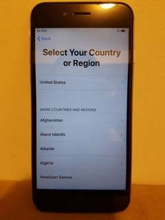 Unlocked iPhone 6 - 16GB