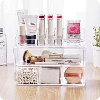Minimalist Makeup Organizer