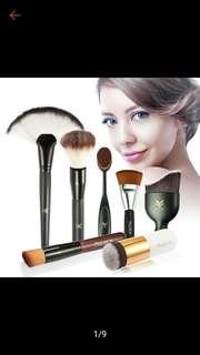 Makeup brush set in 7 pcs