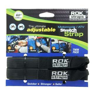 ROK STRAPS MOTORCYCLE STRETCH STRAP