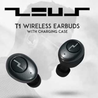 ZEUS T1 Wireless Earbuds Earphone Earpiece - BNIB comes with retail purchase