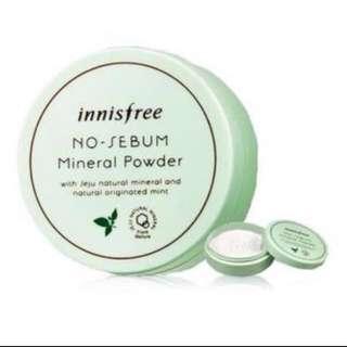 🌟Innisfree No Sebum Mineral Powder / blur powder