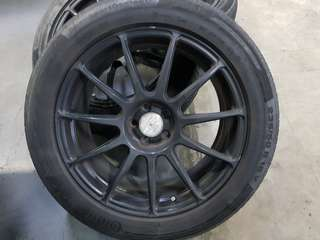 18 inch rim and Tyre (tire) 5 x 100