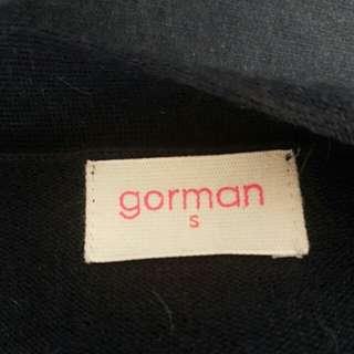 Gorman Navy Blue Wool Long Cardigan
