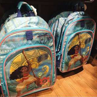 Disney UK Official Merchandise Moana School Bagpack with Music