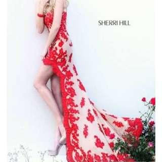 Sherri Hill Dress Formal Designer Size Small READ DESCRIPTION