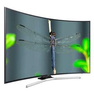"""Samsung 65"""" Smart Tv  4K Curved"""