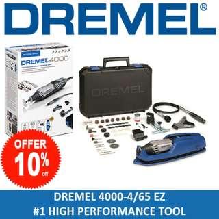 DREMEL High Performance Rotary Tool Grinder Engrave 4000