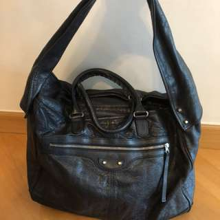 Balenciaga bag - Navy Blue - 可手挽可上肩膊