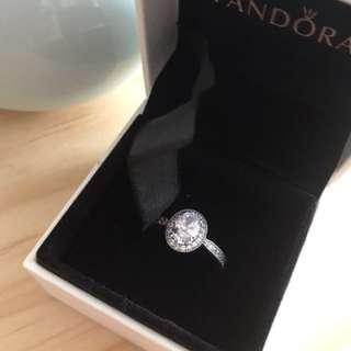 Pandora silver ring / size52 / with box / 全新戒指有盒