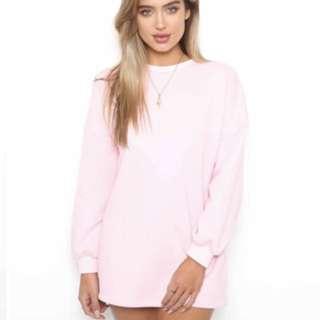 Tigermist pink jumper