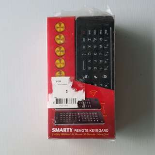Smart remote keyboard