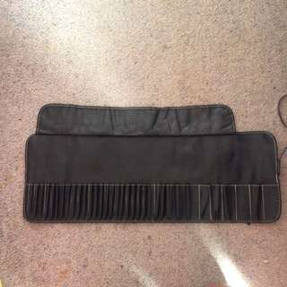 Make up brush bag