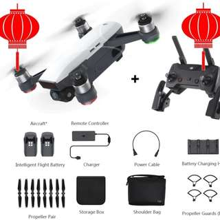 [CNY Special] DJI Spark Fly More Combo New