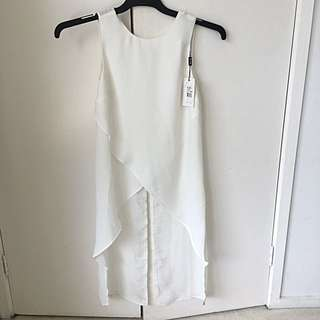 Brand new with tags Bardot crossed tunic top