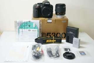 🚚 Nikon D5300