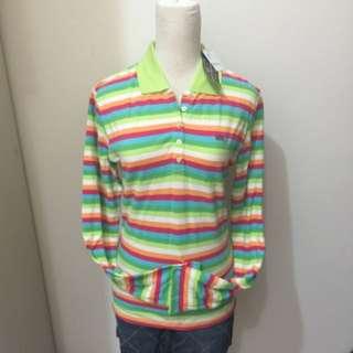 🚚 Polo Jeans彩虹長袖POLOT