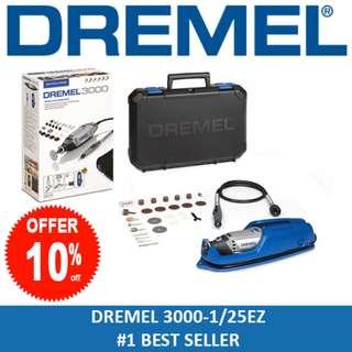 DREMEL 3000 Rotary Tool Grinder / Engraver