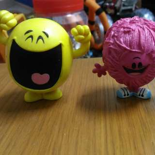 Mr happy & mr messy