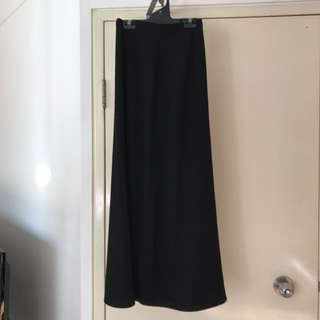 Bardot Black Maxi Skirt